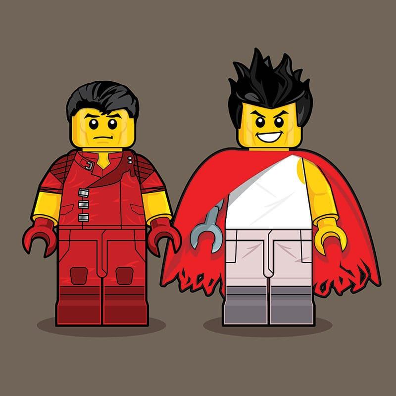 Akira LEGO Minifigure
