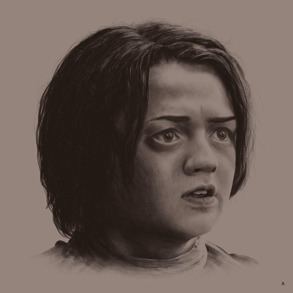 Arya Stark Print