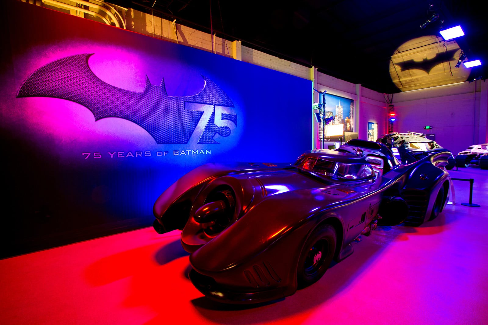 Batman 75th Anniversary Exhibit