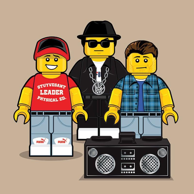 Beastie Boys LEGO Minifigure