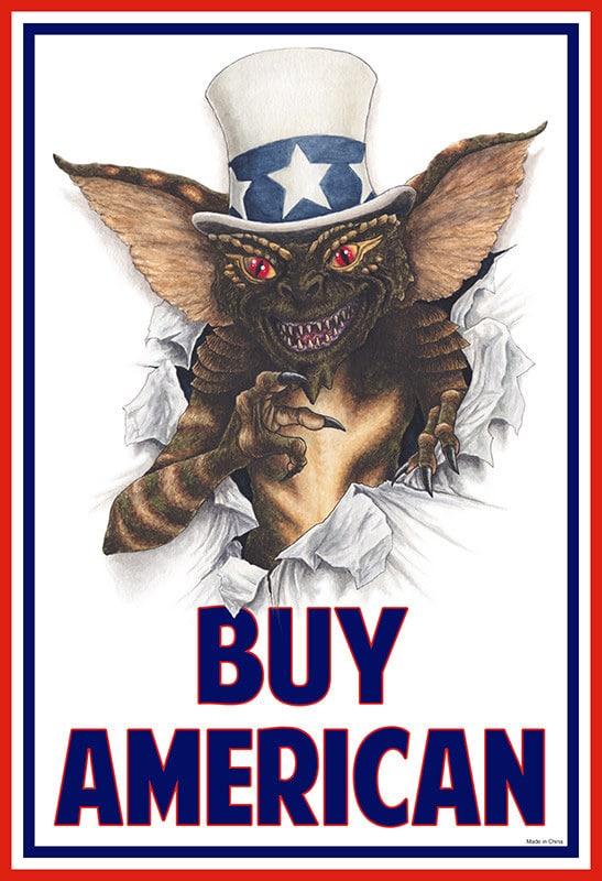 Gremlins Buy American Poster