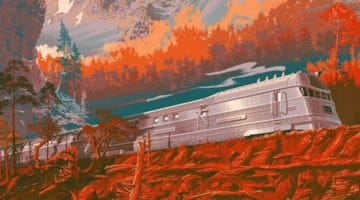 The Zephyr – California Print by Laurent Durieux