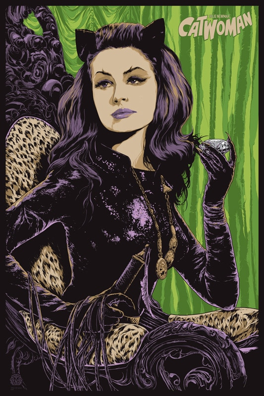 Catwoman Variant Poster