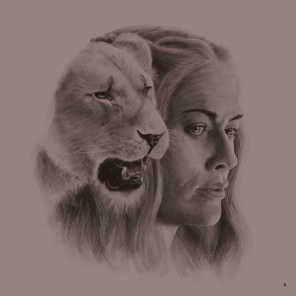 Cersei Lannister House Sigil Print