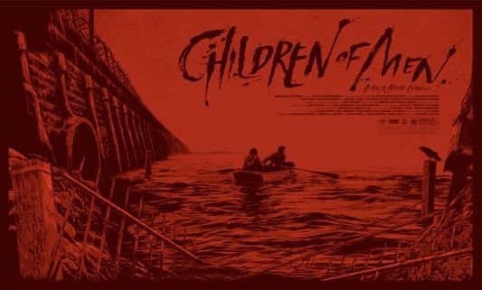 Children of Men Red Movie Poster