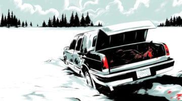 Fargo and Grand Budapest Hotel Movie Prints