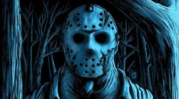 Welcome to Camp Crystal Lake Glow in the Dark Prints