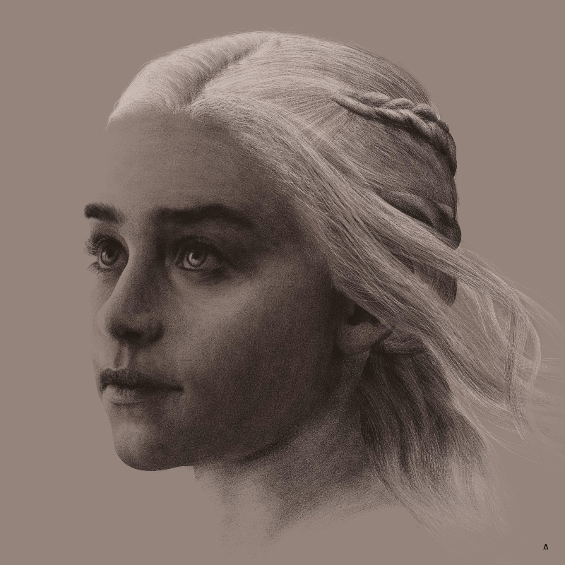 Game of Thrones Daenerys Print by HCG