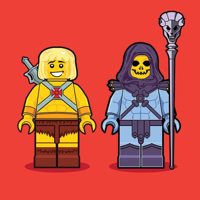 He-man LEGO Minifigure