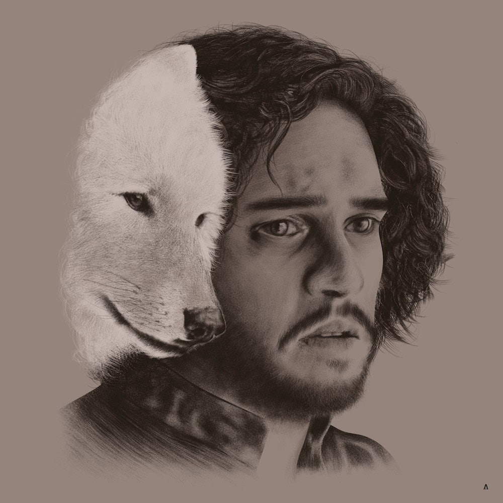 Jon Snow House Sigil Print