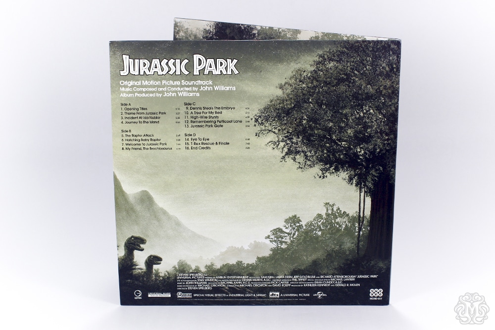 Jurassic Park Soundtrack Art by JC Richard 5