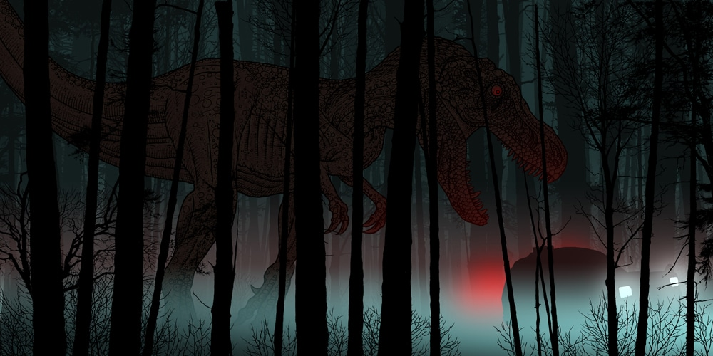 Jurassic Park Soundtrack Art by Dan McCarthy 4