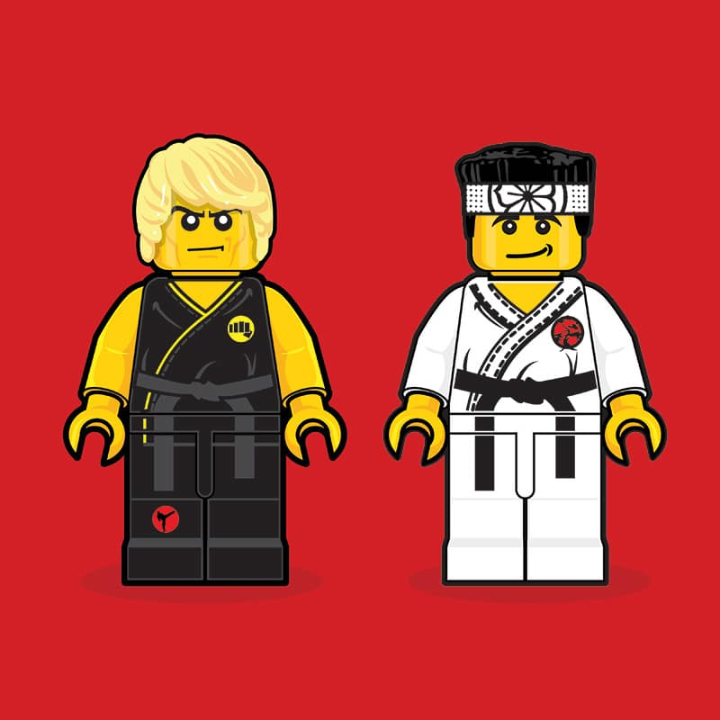 Karate Kid LEGO Minifigure