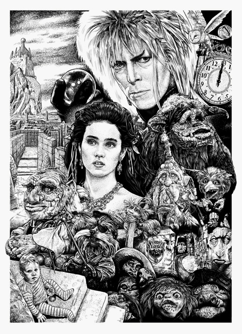 Labyrinth Print from Monkey Mouth