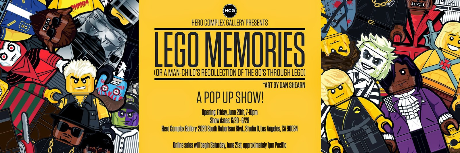 LEGO Movie and Pop Art Minifigures Art Show