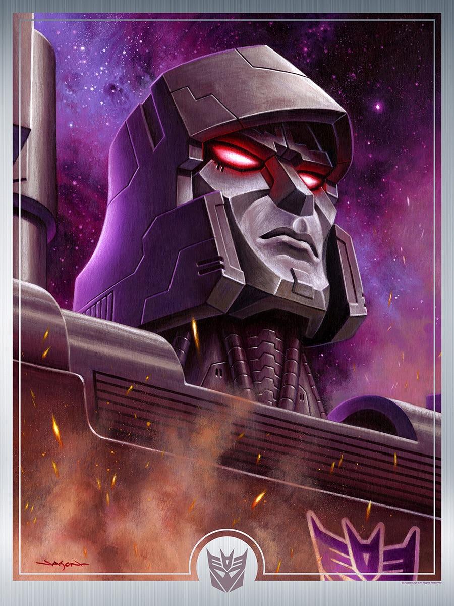 Megatron Transformers Print by Jason Edmiston