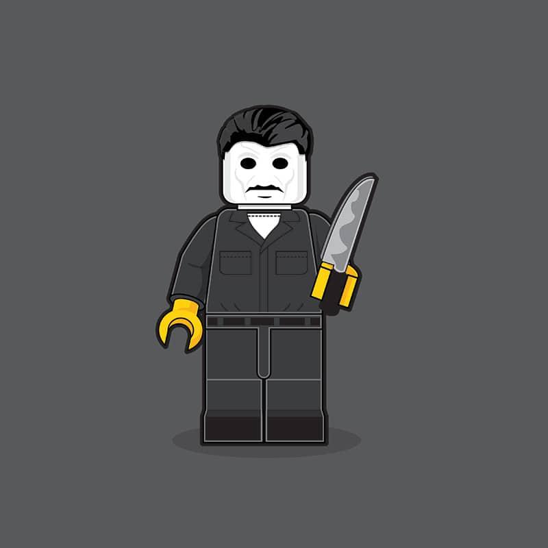 Michael Myers LEGO Minifigure