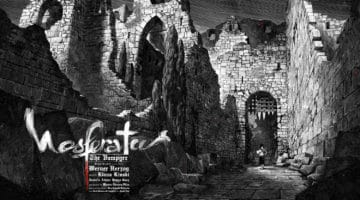 Nosferatu Movie Poster by Nicolas Delort