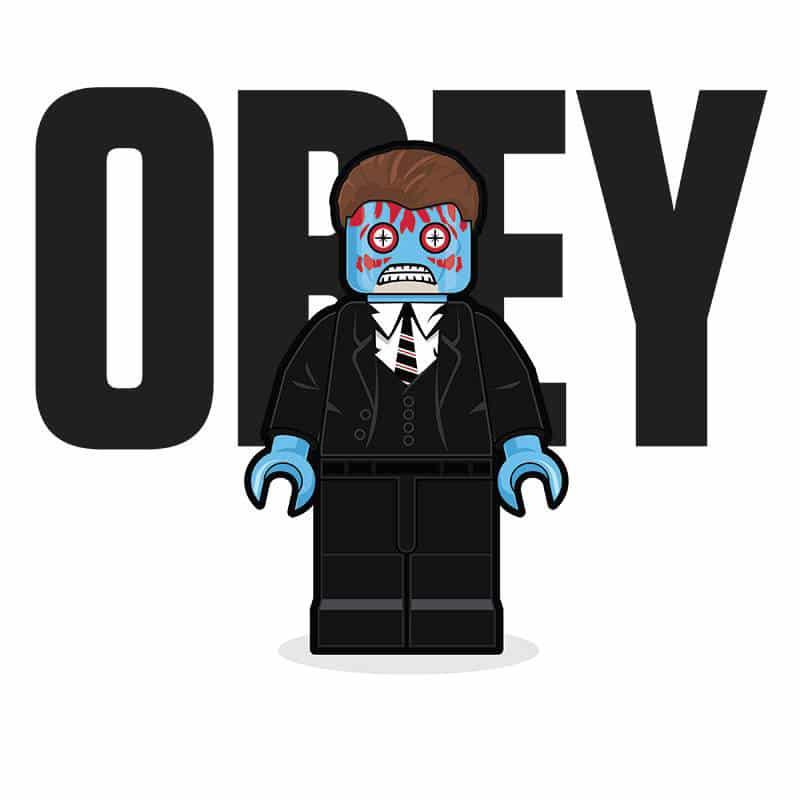 OBEY LEGO Minifigure