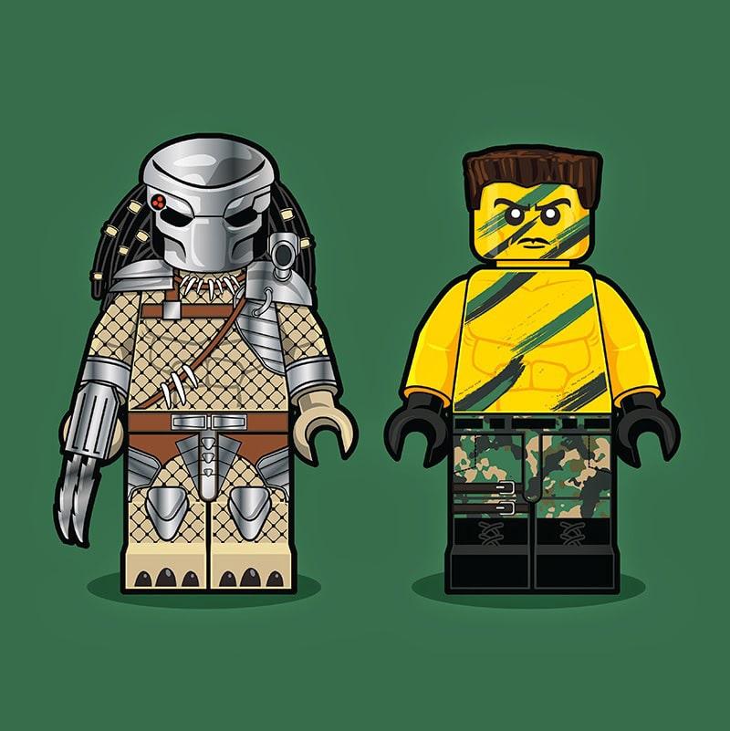 Predator LEGO Minifigure