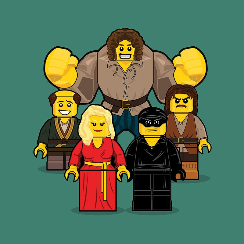 Princess Bride LEGO Minifigure