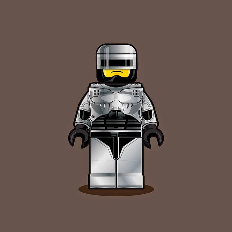 Robocop LEGO Minifigure