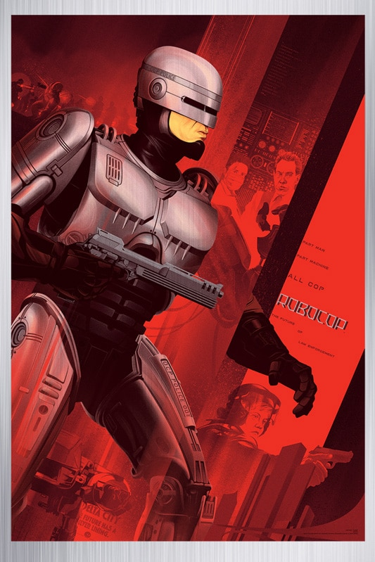 Robocop Metal Movie Poster
