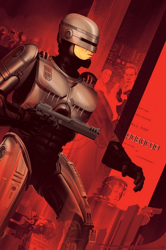 Robocop Red Movie Poster