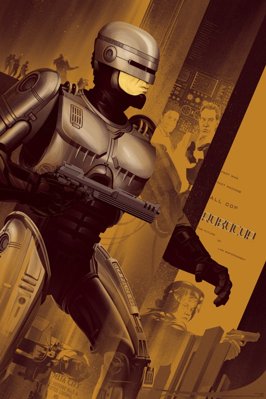 Robocop Gold Movie Poster