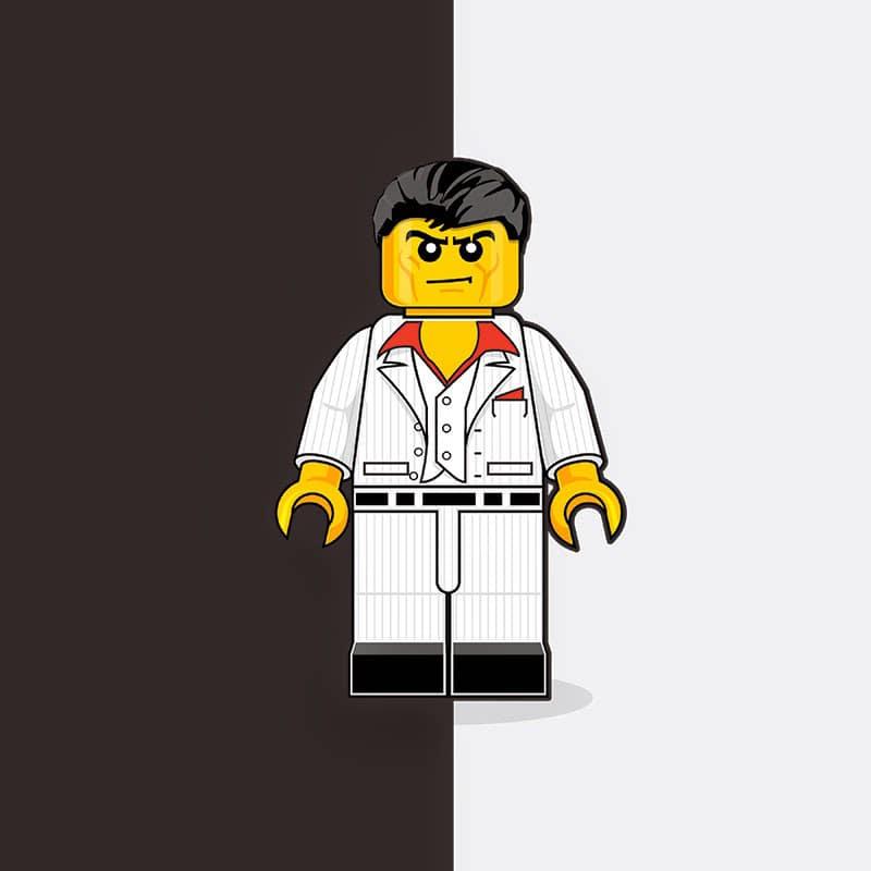 Scarface LEGO Minifigure
