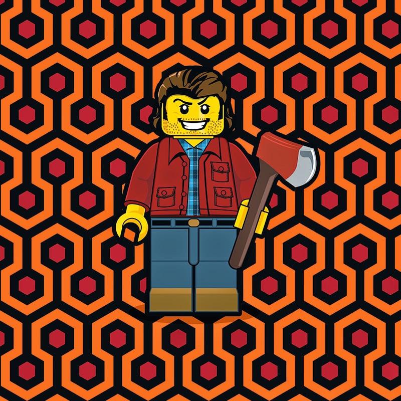 Shining LEGO Minifigure