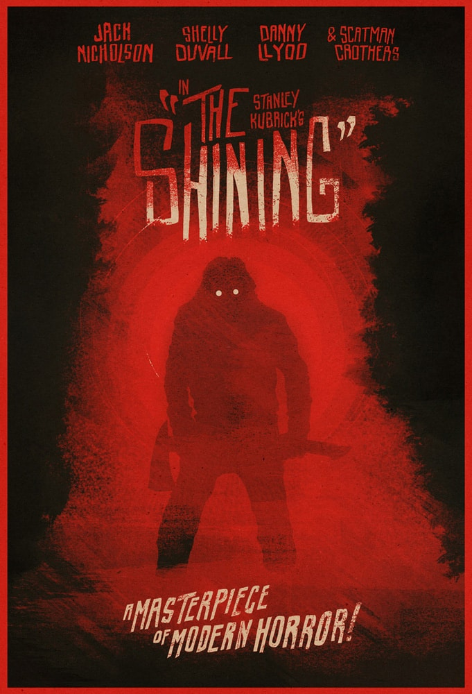 The Shining Move Poster Red
