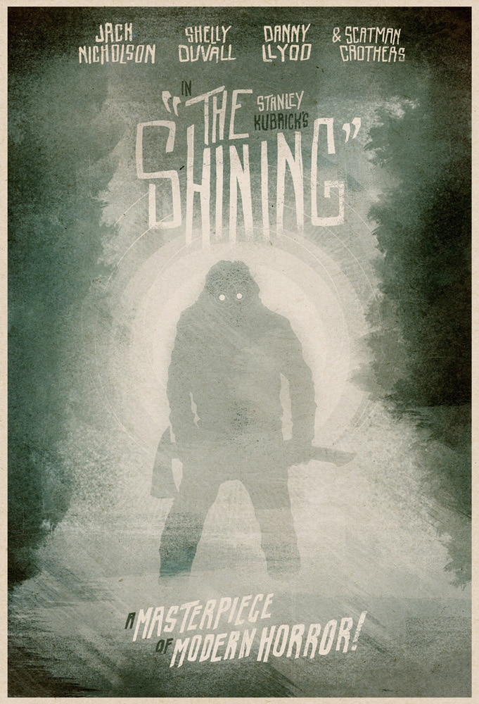 The Shining Move Poster by Matthew Griffin