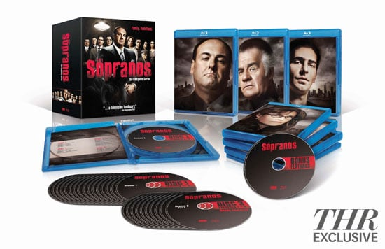 Box Art for the Complete Sopranos Blu-ray Set