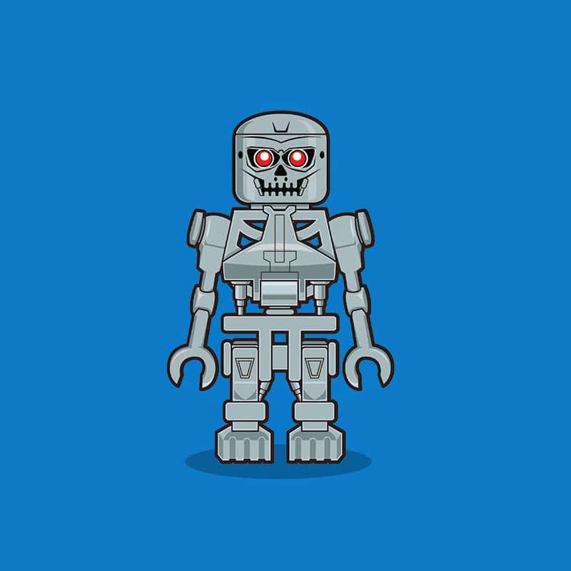 Terminator LEGO Minifigure