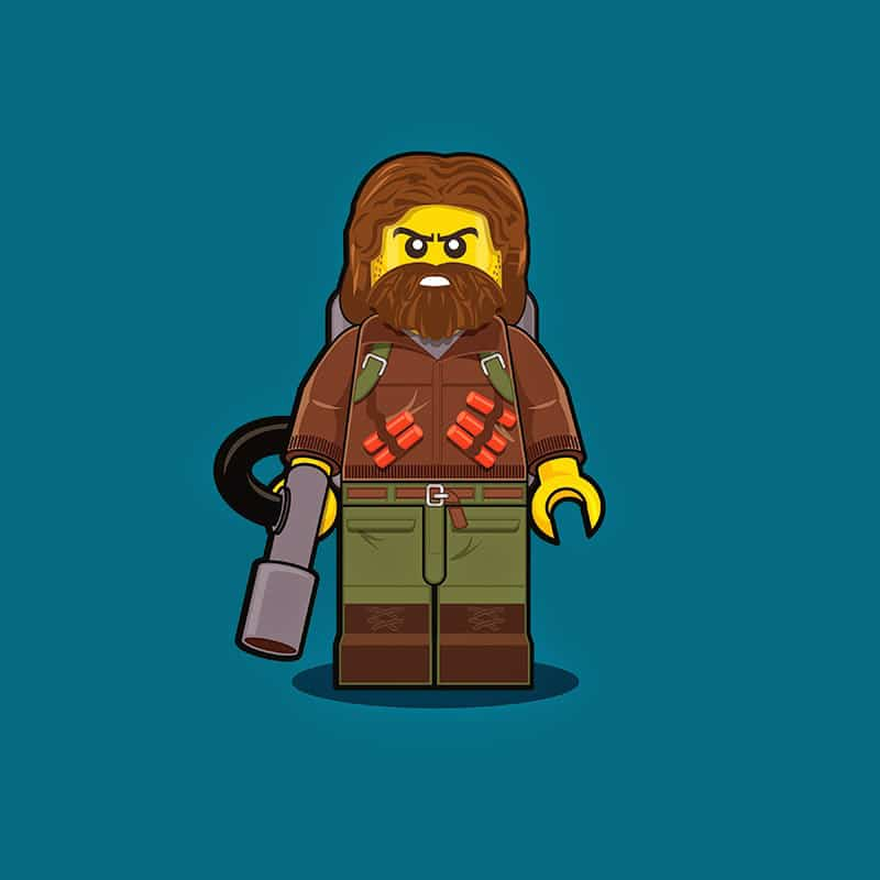 The Thing LEGO Minifigure