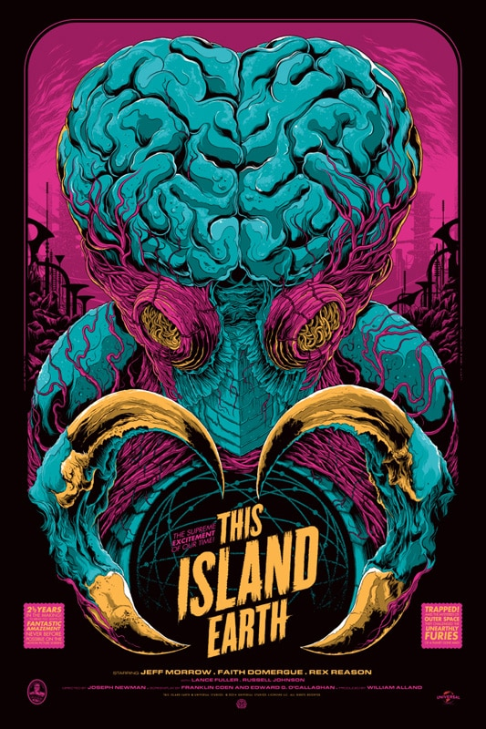 This Island Earth Variant Movie Poster