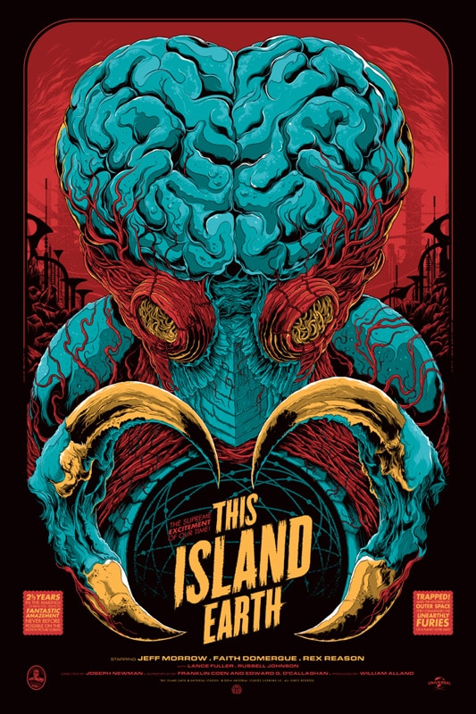This Island Earth Movie Poster