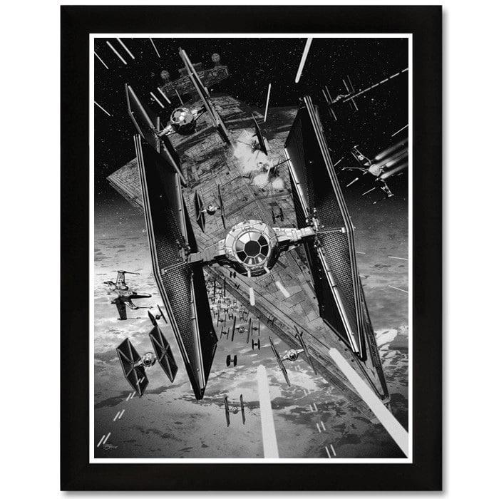 Tie Fighter Star Wars Print