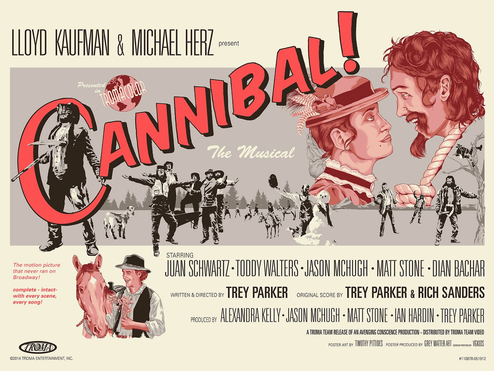 Cannibal the Musical Print
