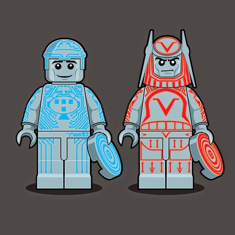 Tron LEGO Minifigure