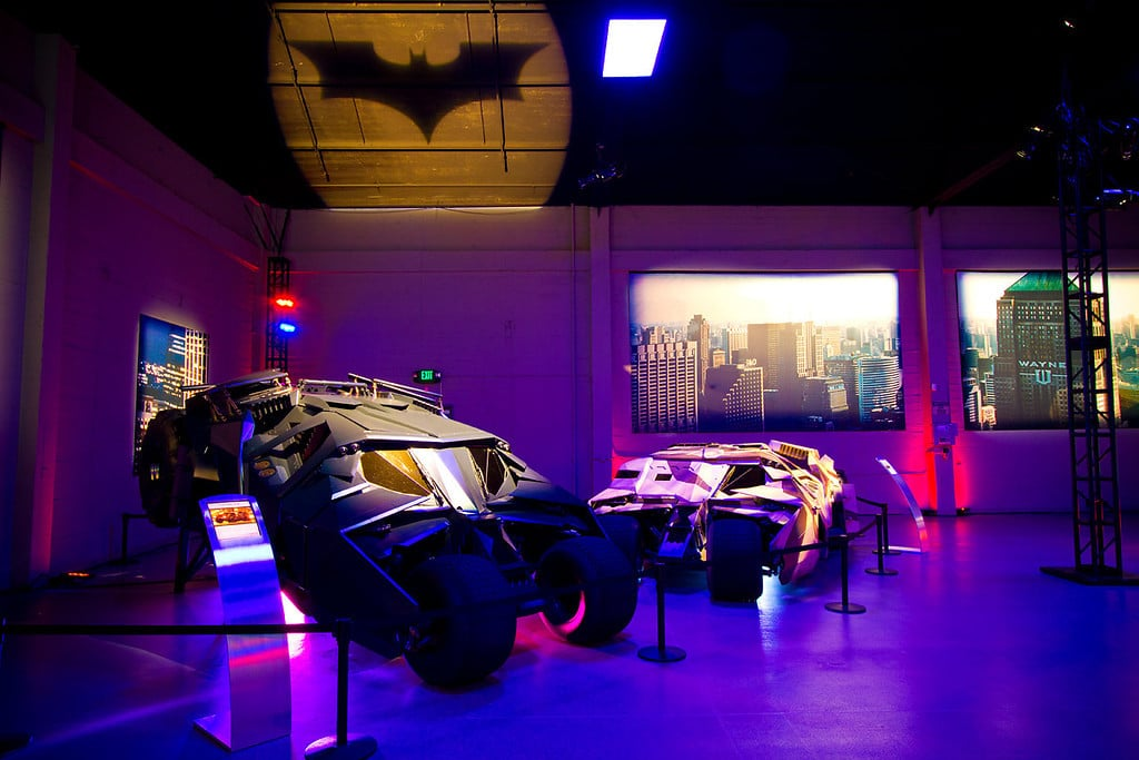 Batman Tumblers on Exhibit