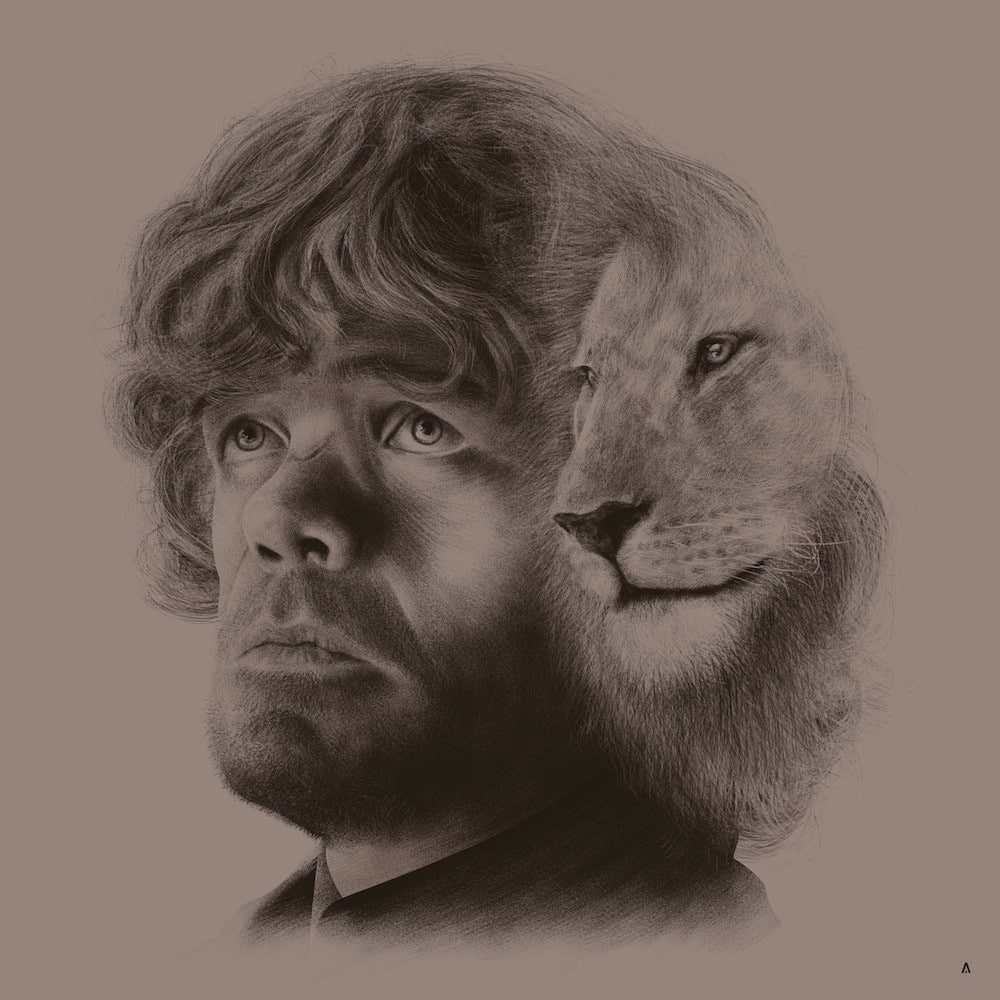 Tyrion Lannister House Sigil Print