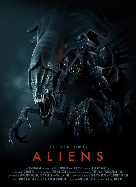 Aliens Poster Print