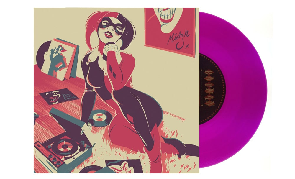 Batman the Animated Series Harley Quinn Record