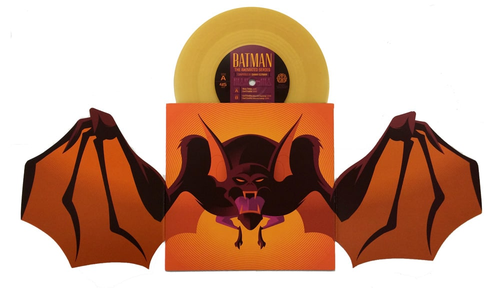 Batman the Animated Series Manbat Record