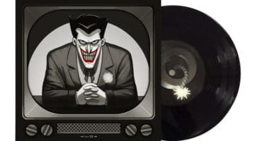 Batman the Animated Series Records and Prints