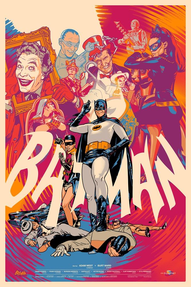 Batman TV Show Poster