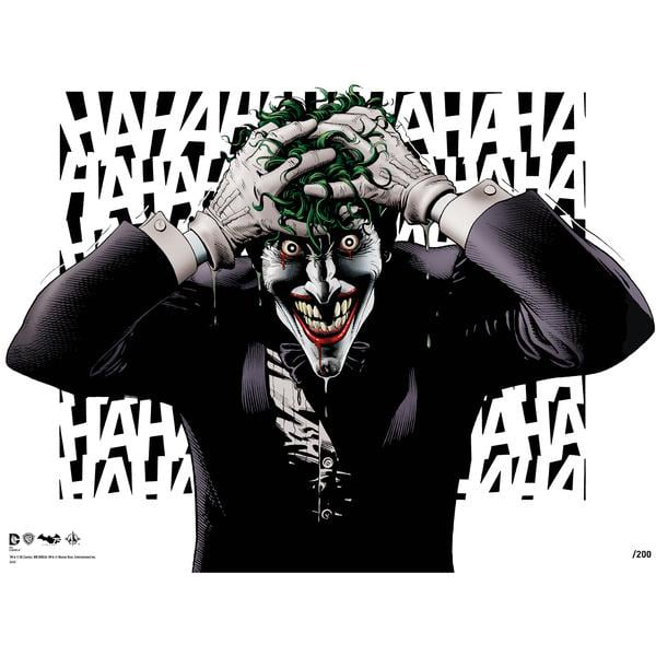 Exclusive Brian Bolland Signed Batman Prints