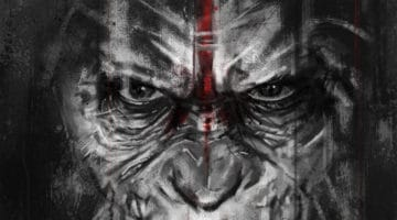 Planet of the Apes Caesar's Vengeance Print